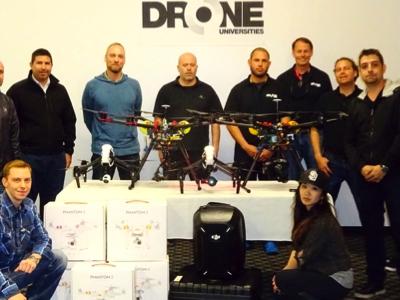 Drone Universities Group Photo, San Luis Obispo, Credit: Drone Universities