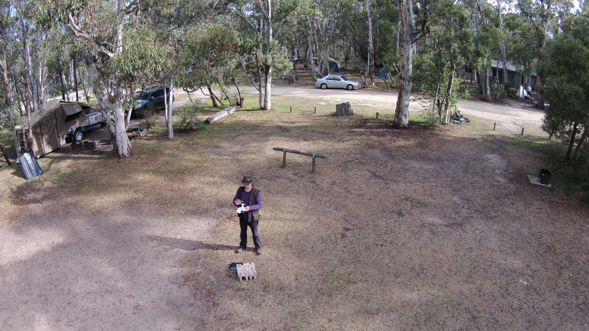 Quadcopter flight test, Stephan Ridgway January 25, 2014