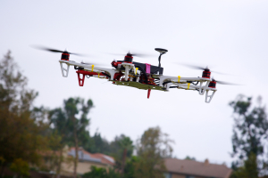Drone First Test Flight, Richard Unten August 5, 2013