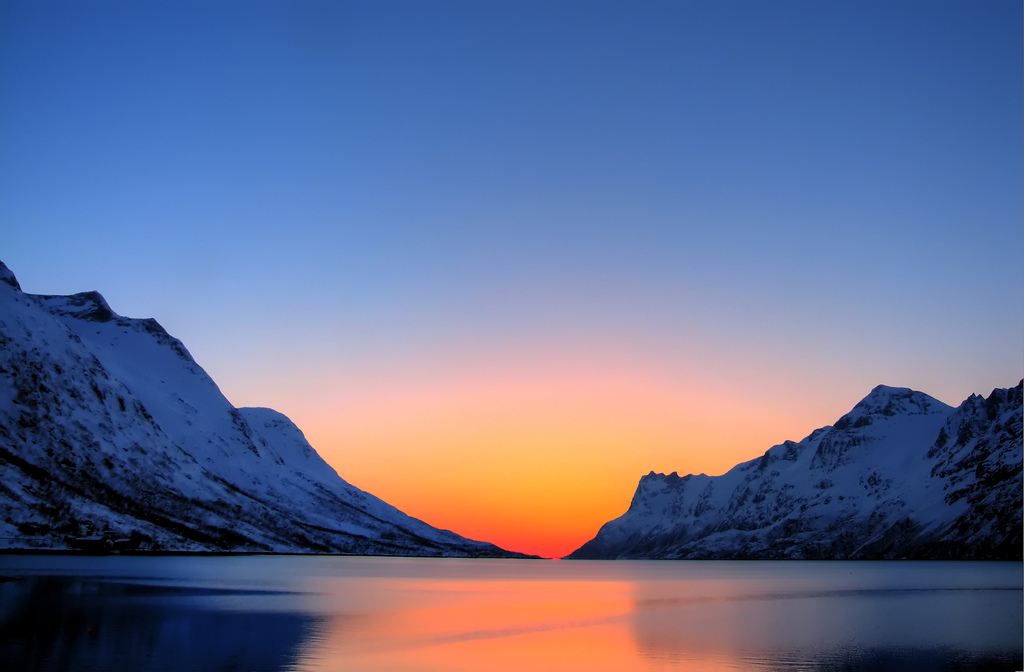 Arctic Sunset, PJ Hanson March 30, 2006