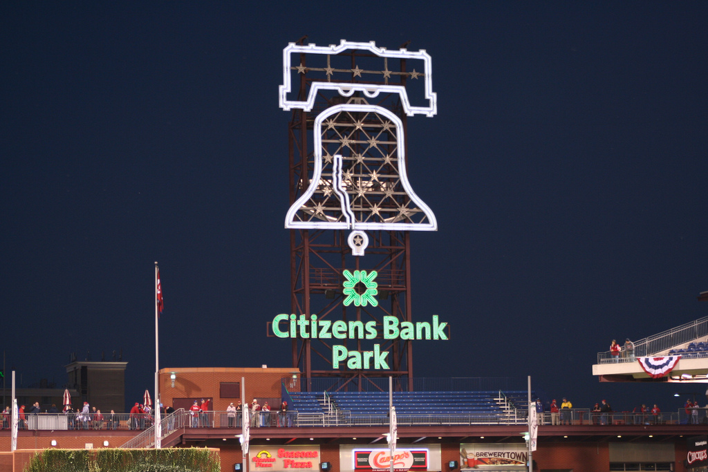 Liberty Bell at Citizens Bank Park, Peter Bond October 19, 2009