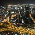 Dubai by Night, Kamel Lebtahi June 3, 2010