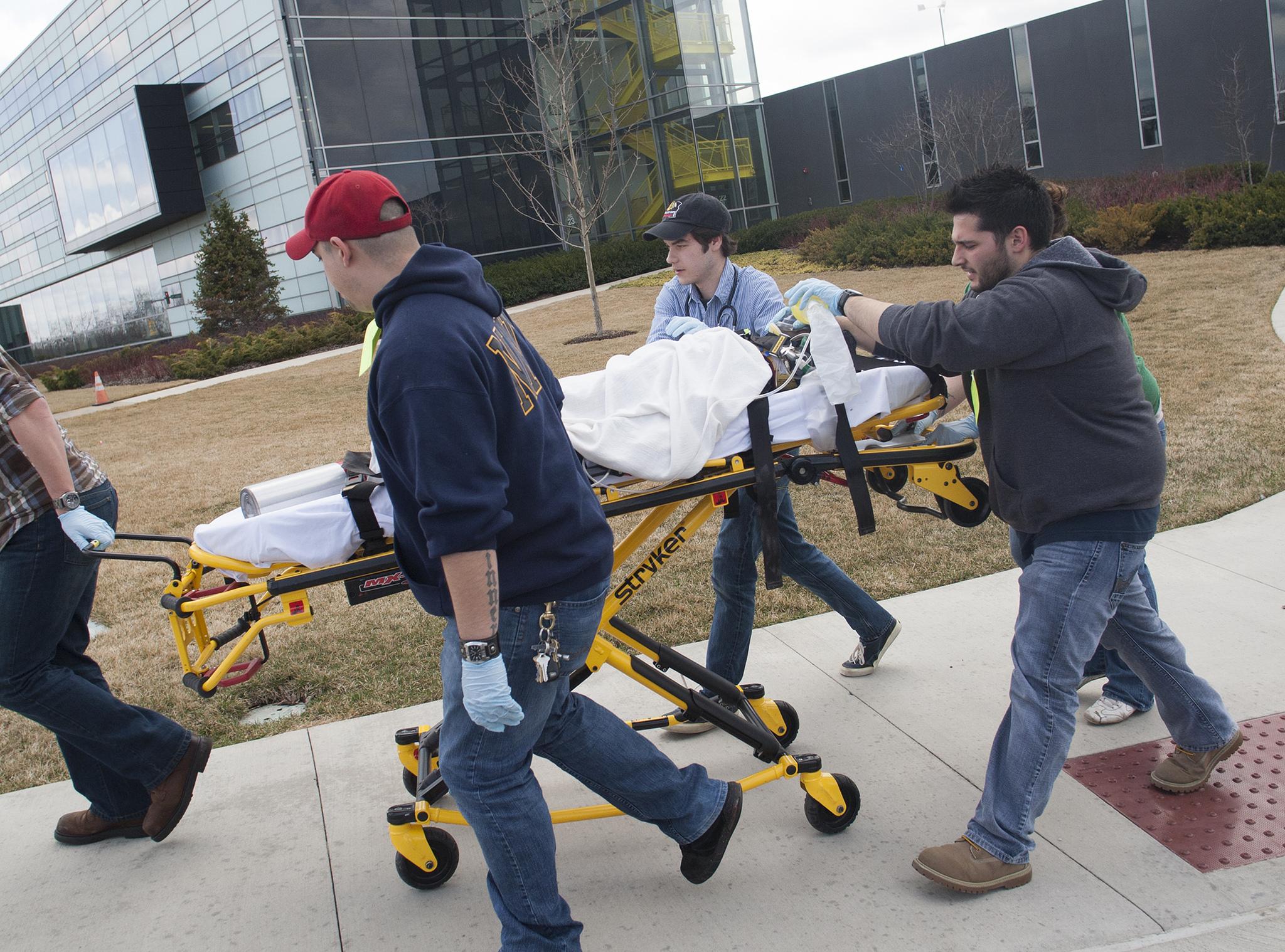 EMT/Nursing Pediatric Emergency Simulation - April 2013 4, COD Newsroom April 8, 2013