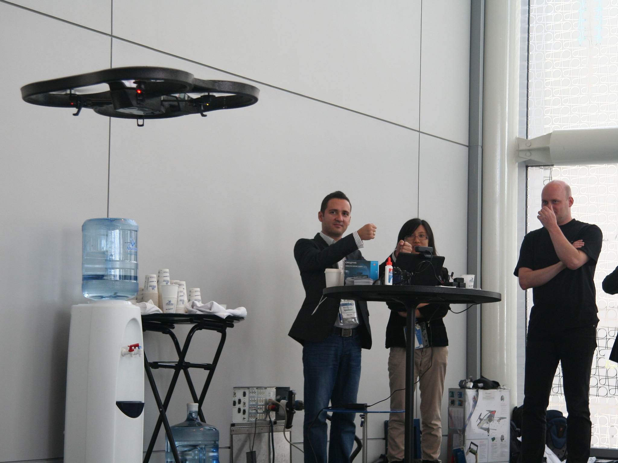 Intel Free Press, Drone controlled by perceptual computing September 17, 2013