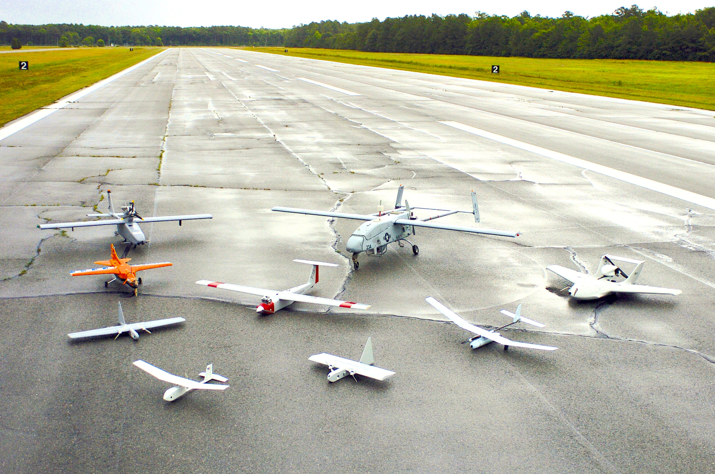 U.S. UAV demonstrators in 2005