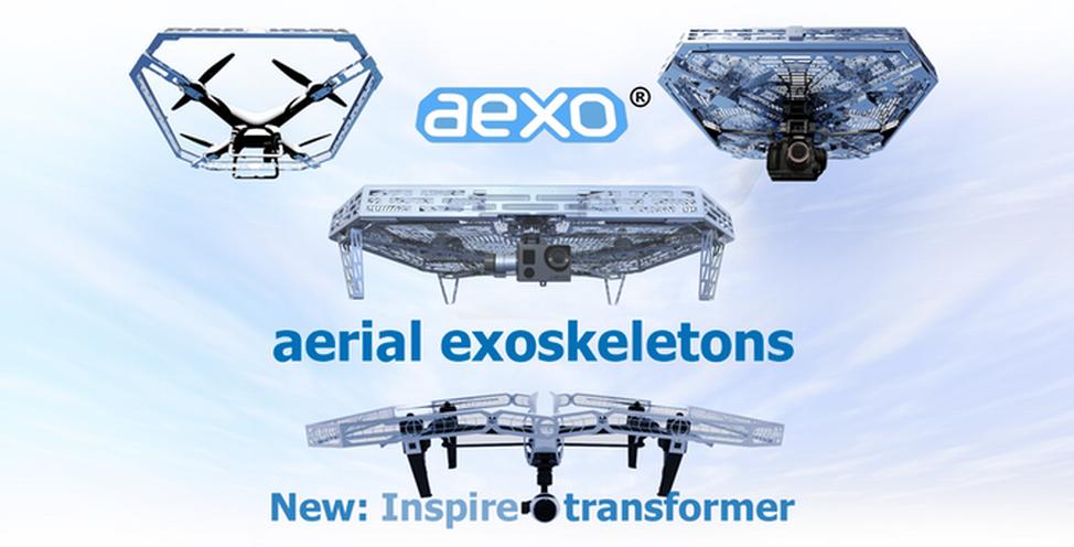 AEXO Aerial Exoskeletons