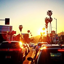 Sunset Blvd, Los Angeles, California