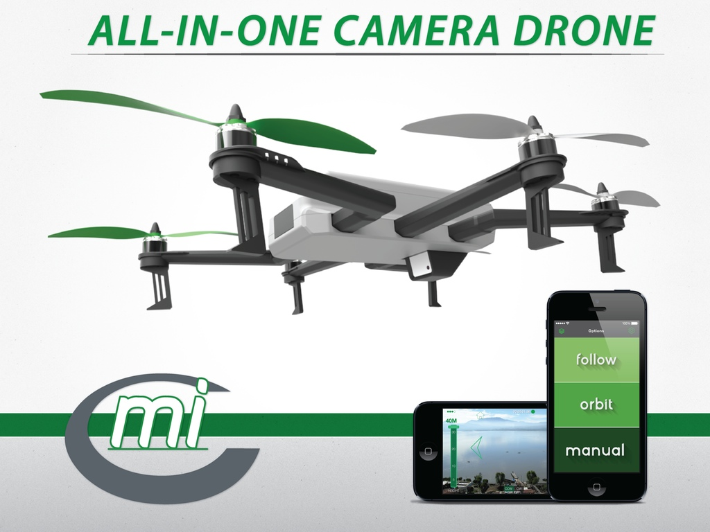 C-mi Drone from PolyHelo