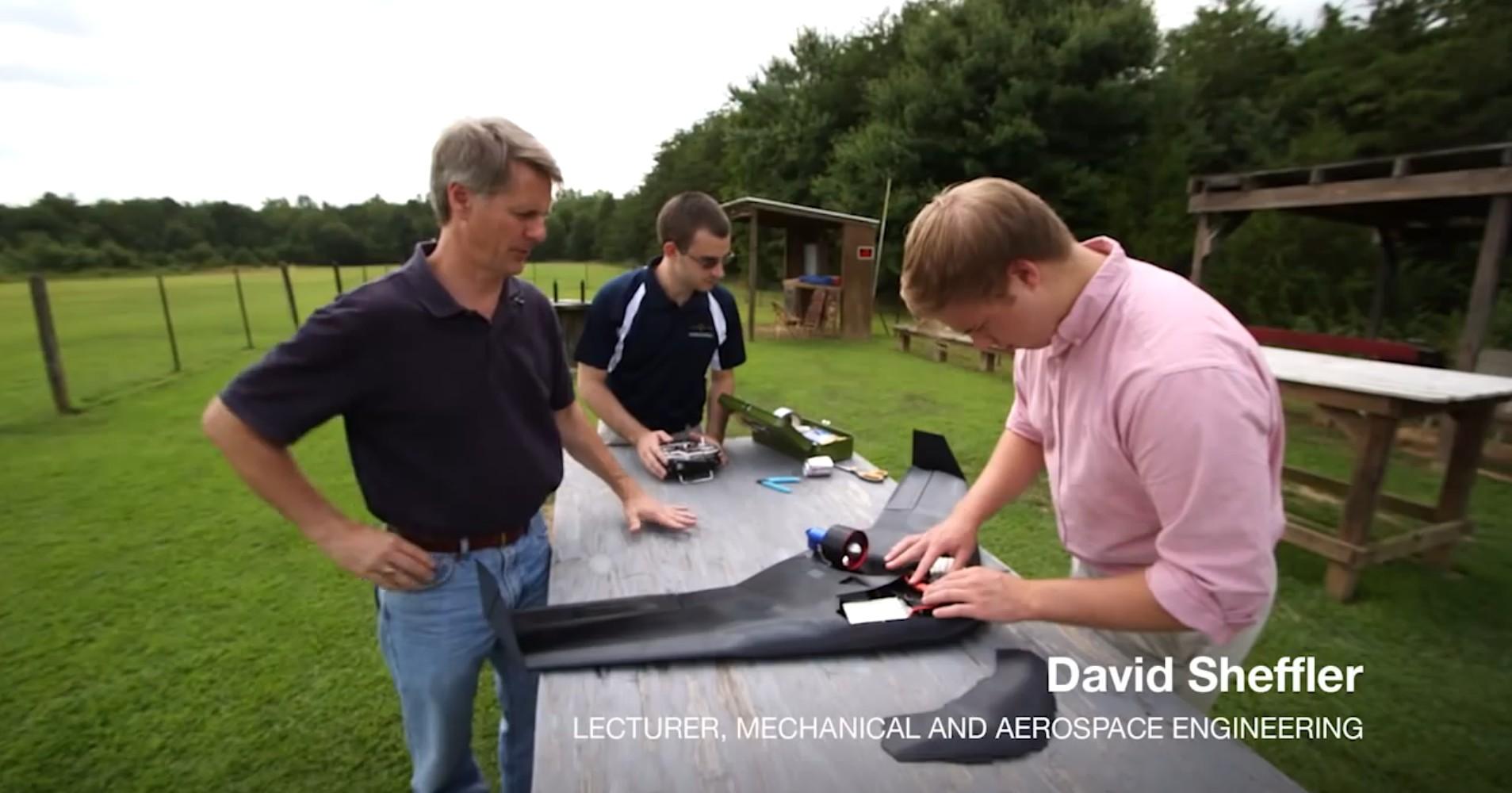 3D Printed Razor Drone