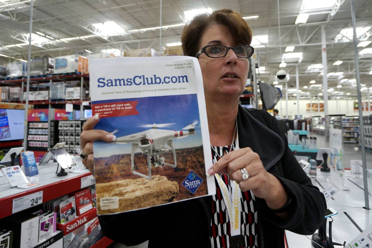 Sam's Club Catalog Featuring Drones