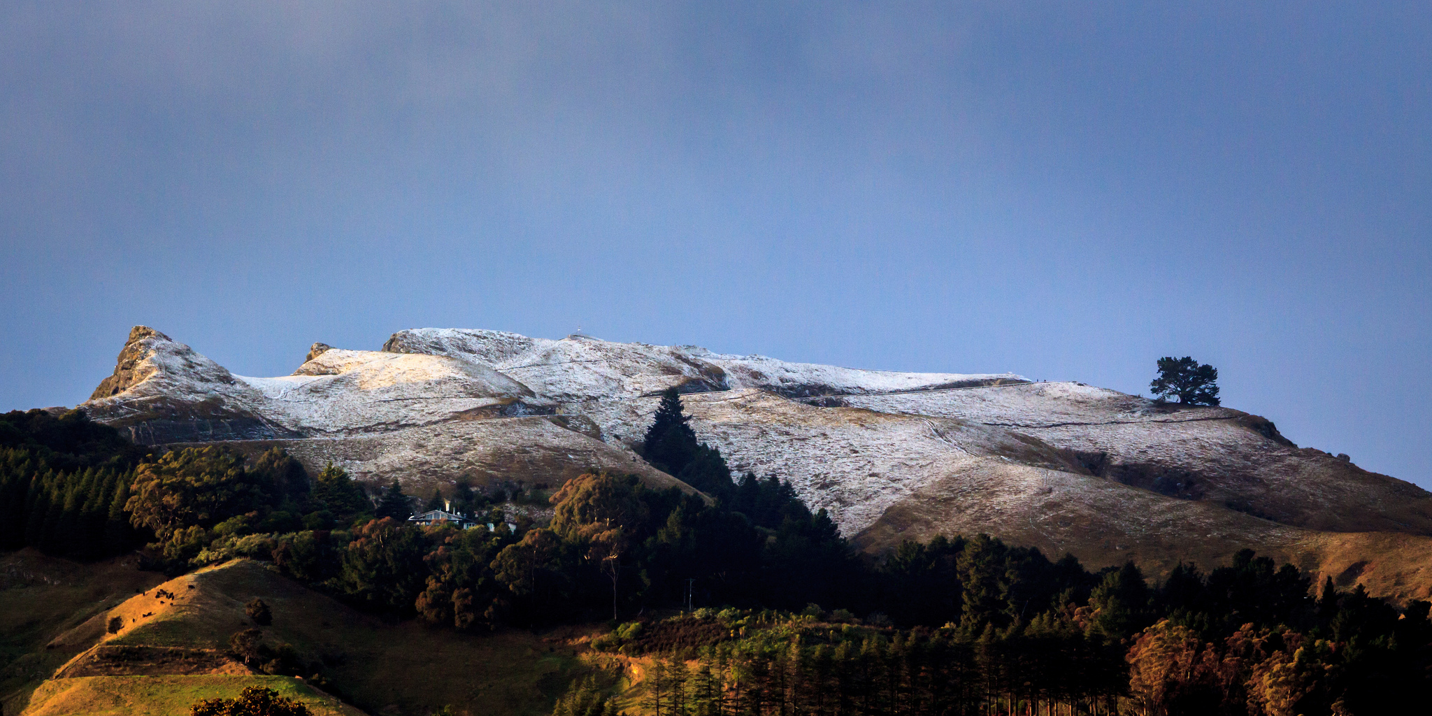 Snow on Te Mata Peak, Jos Buurmans July 10, 2015