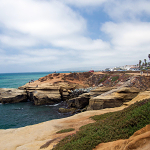 Sunset Cliffs Beach, San Diego CA, SD Dirk July 21, 2012