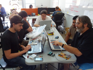 Open Lab + Quads 09.09.12, LA Robotics Club September 9, 2012