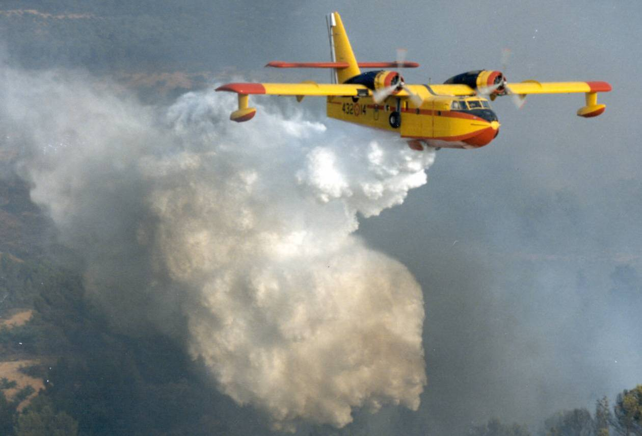 Firefighting Airplane
