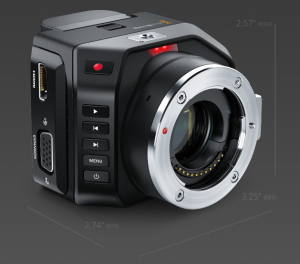 BMD Micro Cinema Camera