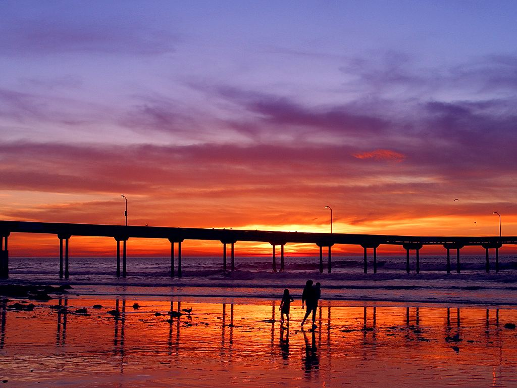 Sunset Pier, Ocean Beach, San Francisco