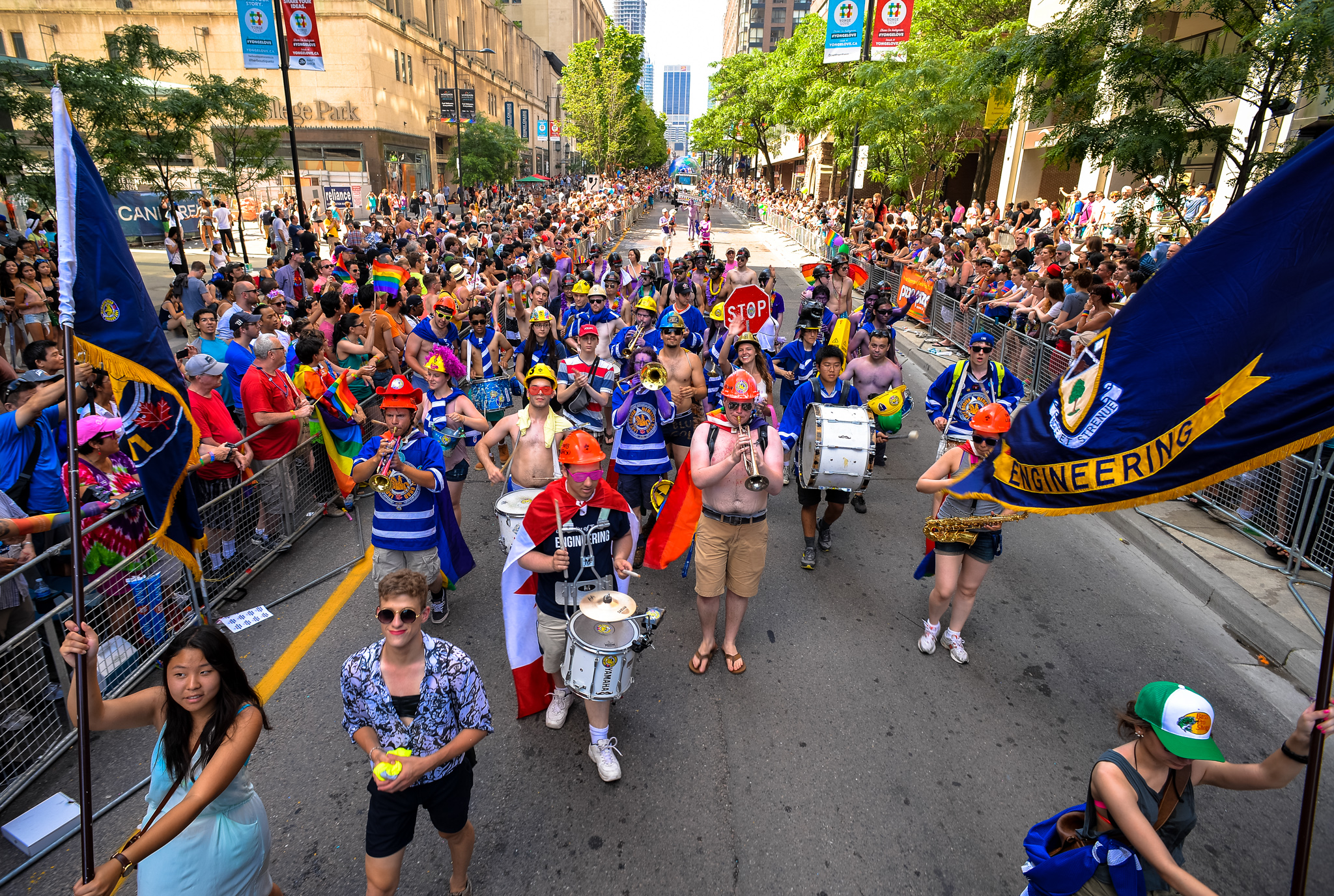 Police Seek Pilot After Woman Knocked Out Cold By Drone During Pride Parade!