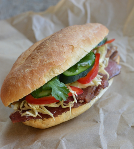 Corned beef and cabbage banh mi, Andrea Nguyen March 24, 2015
