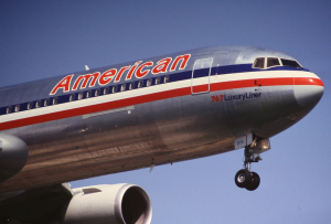 American Airlines Boeing 767-300 nose section, Dean Morley February 15, 2010