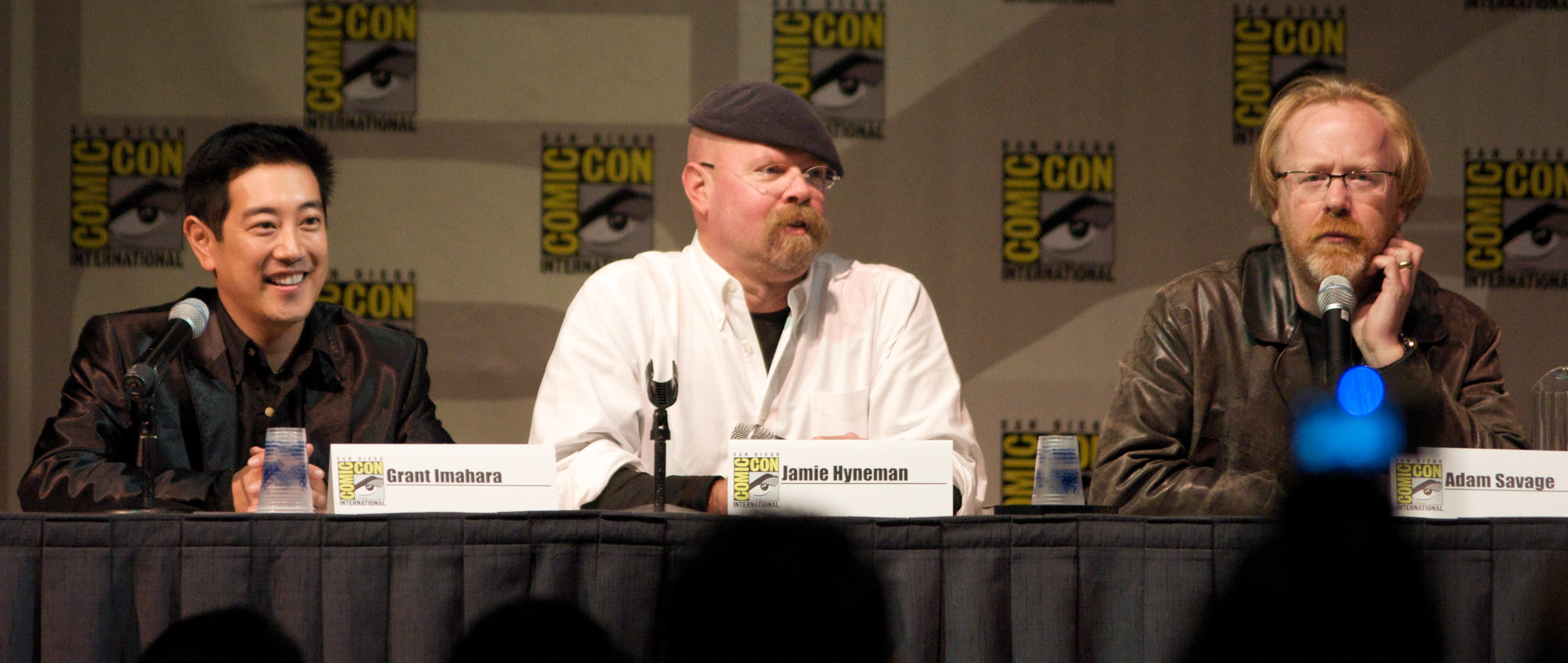 MythBusters at the San Diego ComicCon