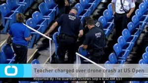 Teacher charged over drone crash (Source: US News)