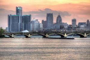 Detroit Skyline (HDR), Bryan Debus May 12, 2014