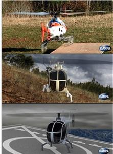 DARPA Flexible Leg Landing Gear