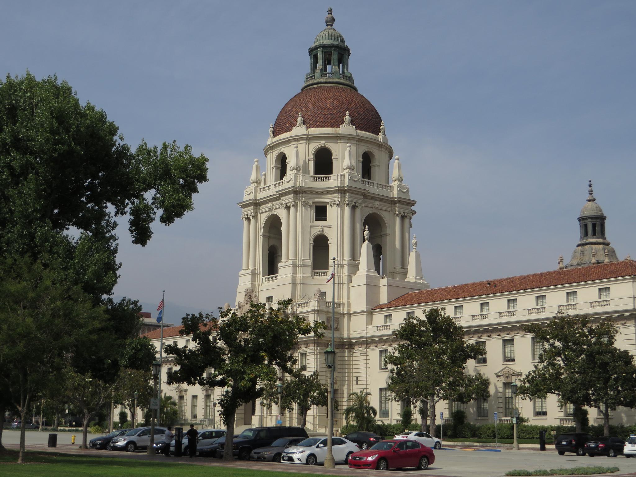Pasadena City Hall, Pasadena, California, Ken Lund June 26, 2014