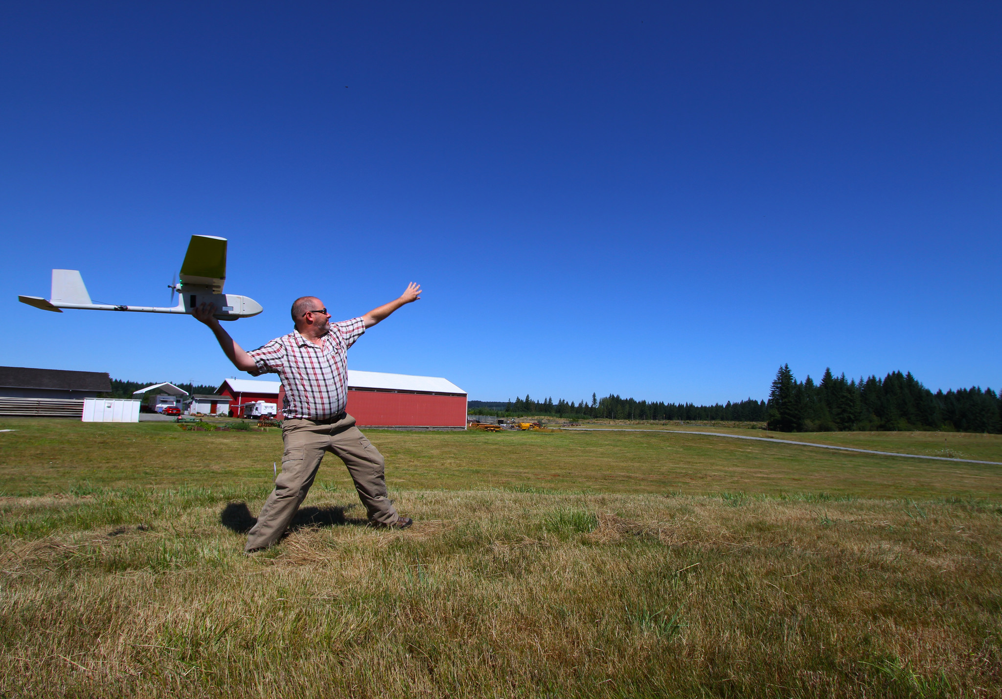 USGS Team Flies Drones for Oregon BLM Forestry Research, BLM July 29, 2014