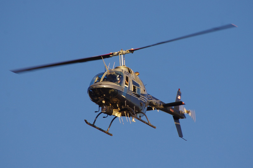 LAPD Helicopter, David Merrett December 24, 2014