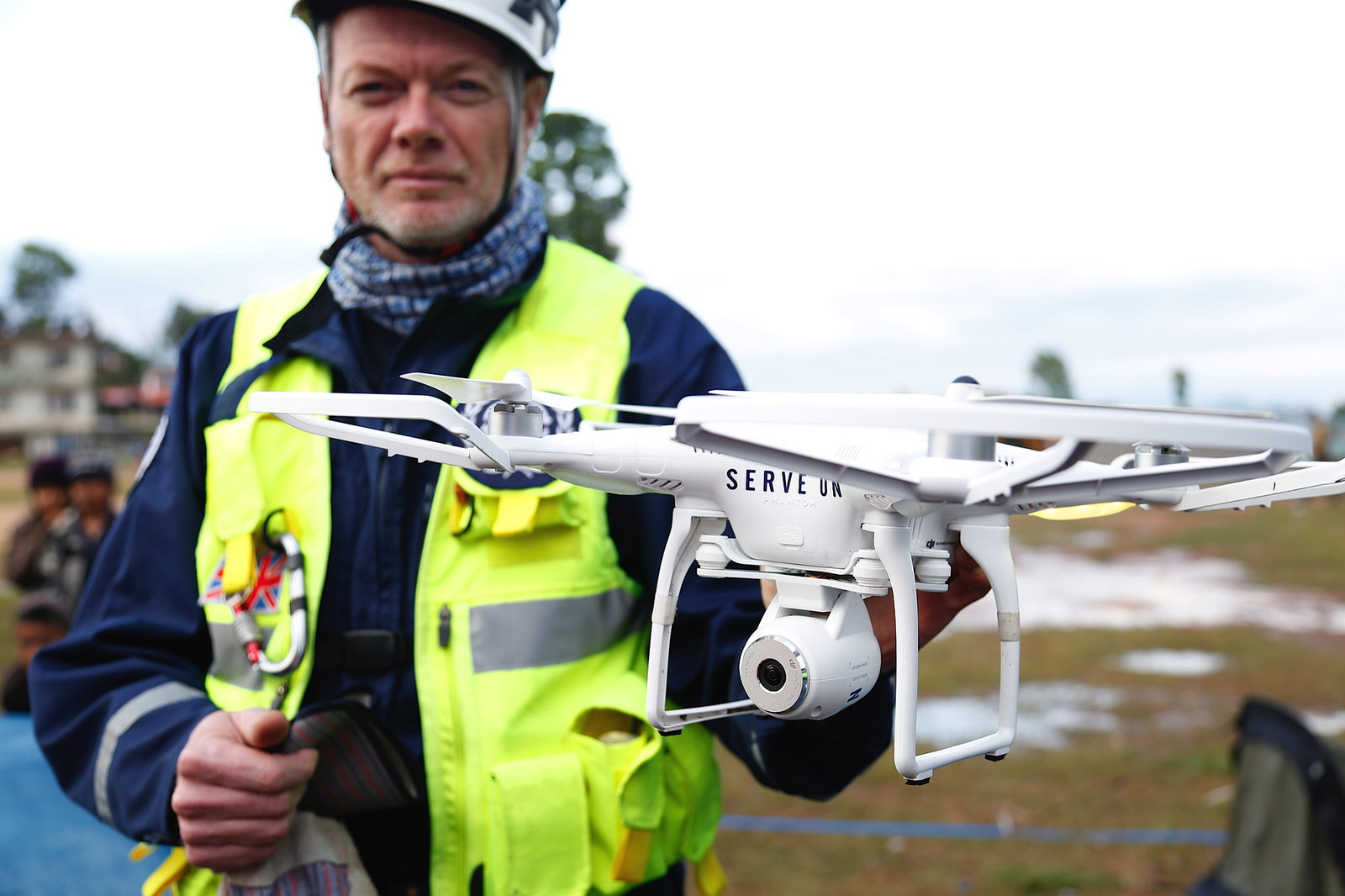 Drone surveillance helps search and rescue in Nepal, DFID - UK Department for International Development April 29, 2015