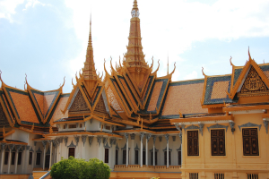 Exotic Khmer Architecture at the Royal Palace, mendhak May 13, 2009