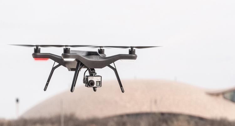 Agribotix and AGCO Customized 3DRobotics Solo Drone