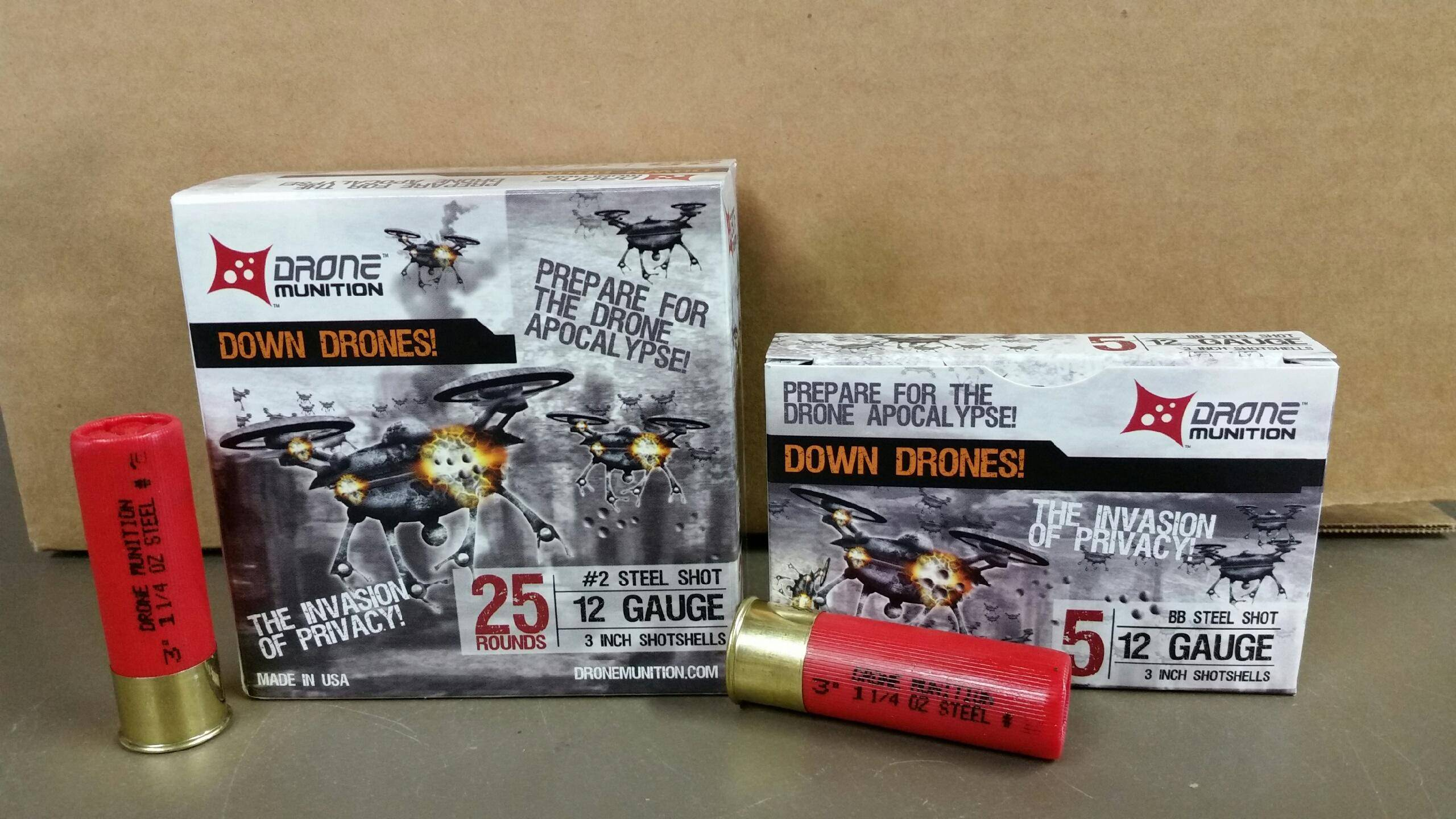 Snake River Shooting Products and Consulting Inc. Drone Munition Shot Shell