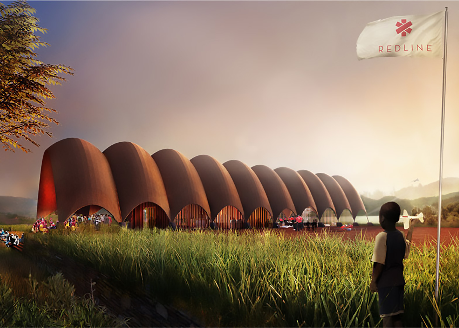 Droneport by Foster + Partners