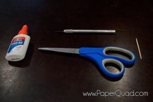 PaperQuad: Materials Needed