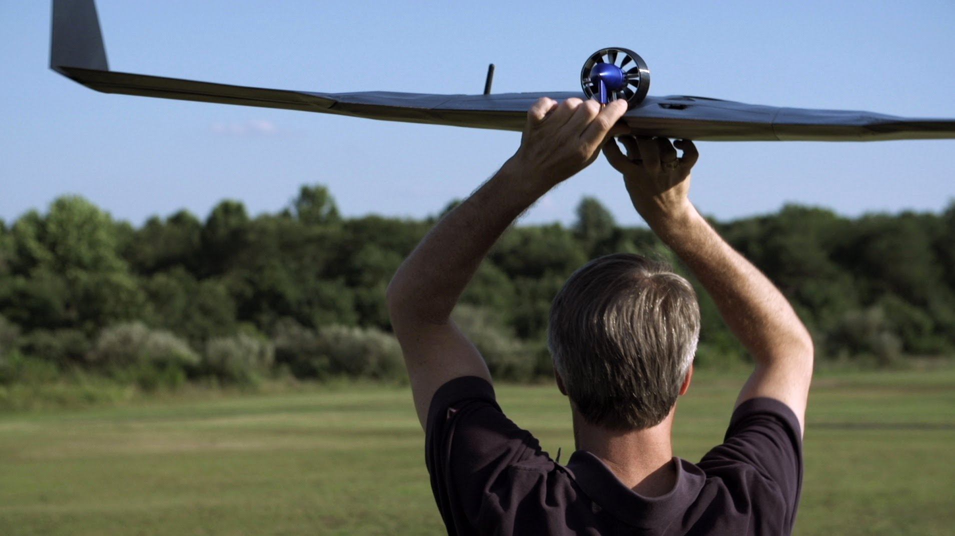 UVA Hand Launching Drone