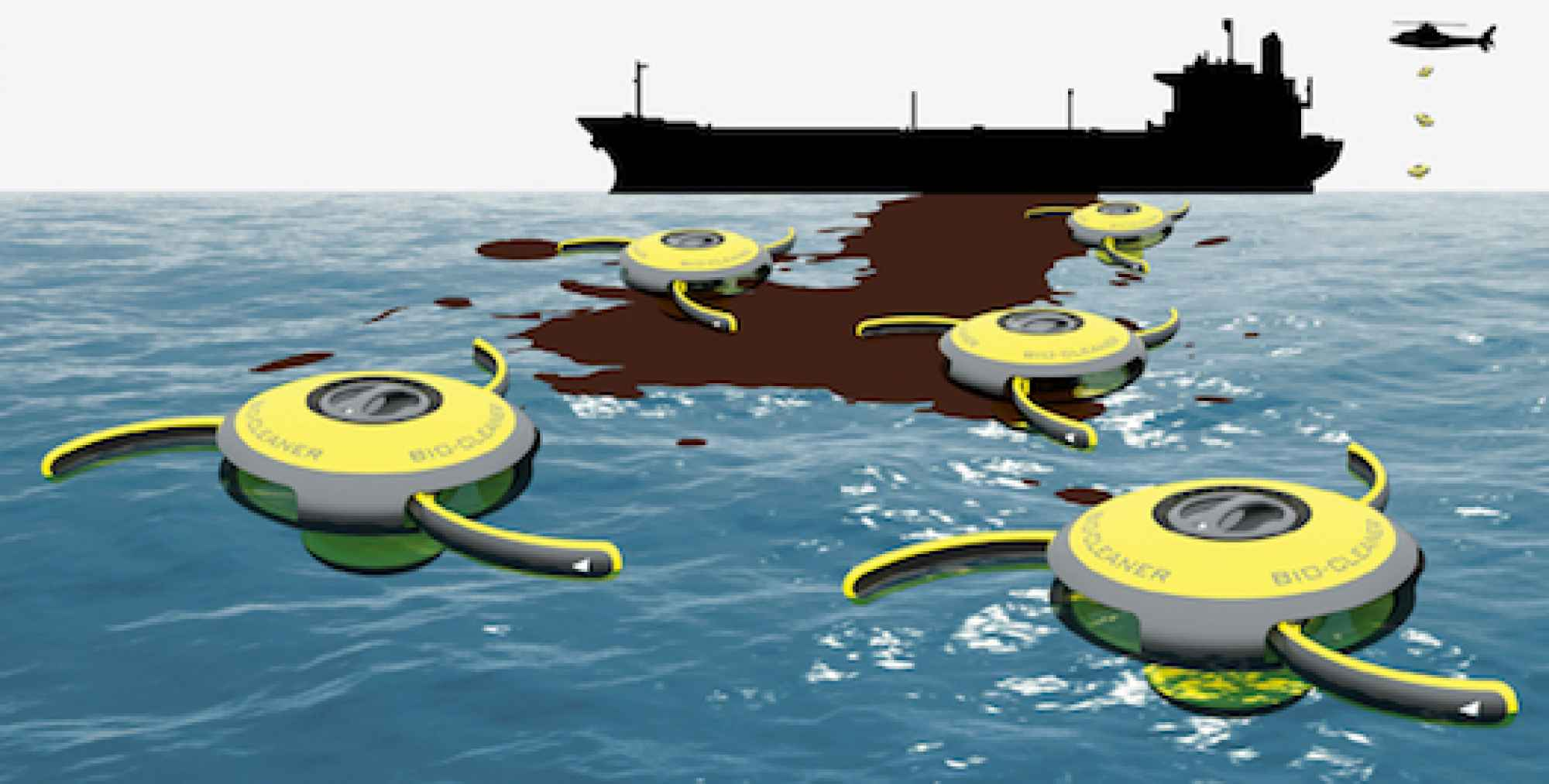Oil Cleaning Drone Design