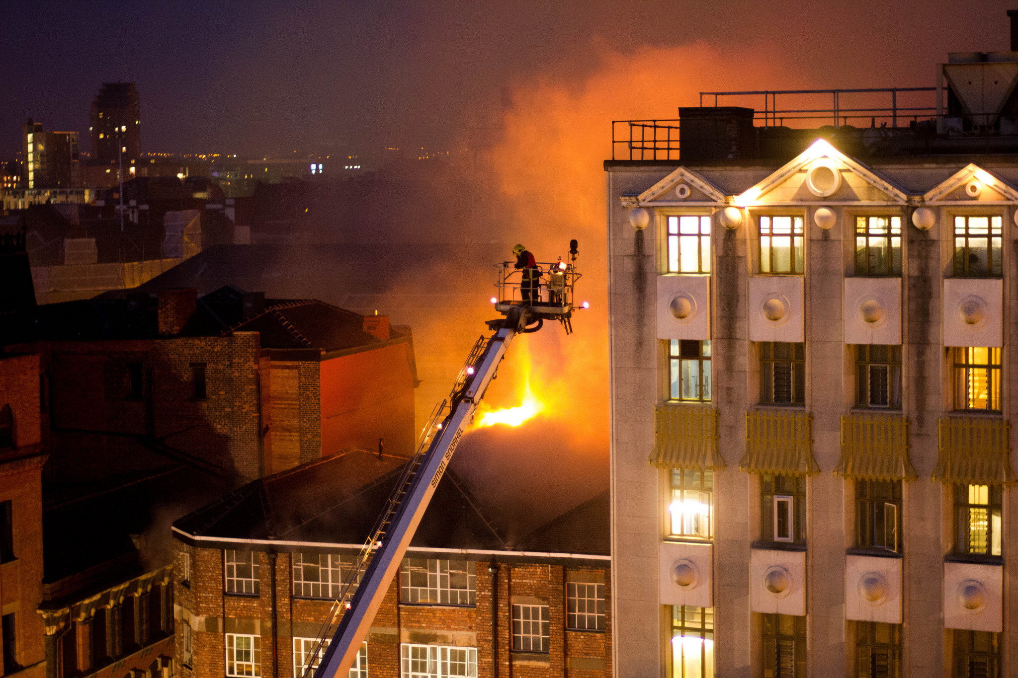 Fire Oldham St. Manchester, Damien Jeanmaire July 13, 2013