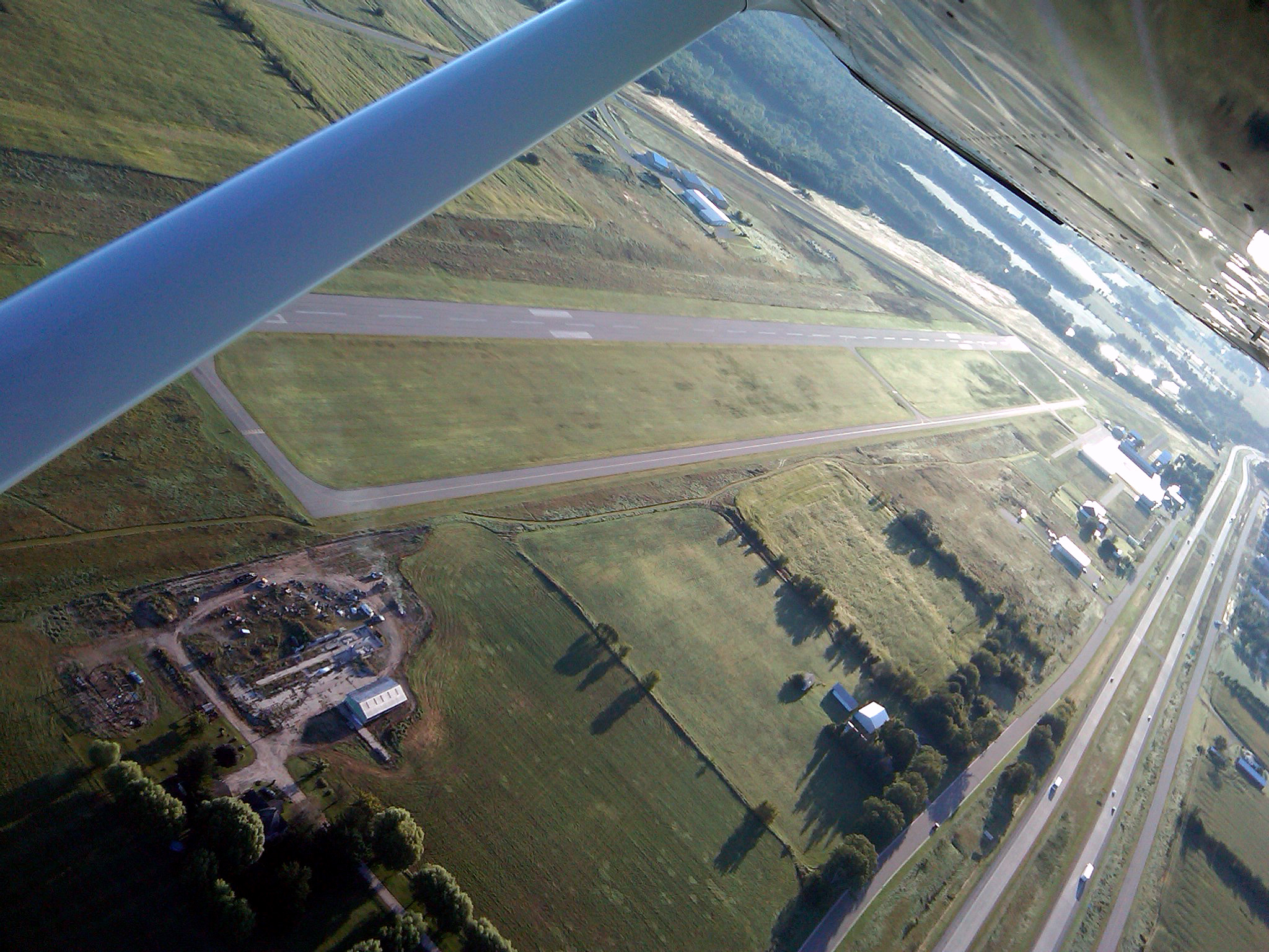 John H. Batten Airport From Above