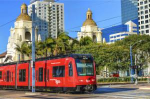 William Garrett, Metropolitan Transit System, Trolley # 4014 February 23, 2014