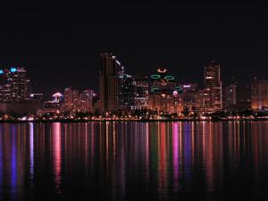 San Diego Skyline 2, Ben Pollard December 2, 2007