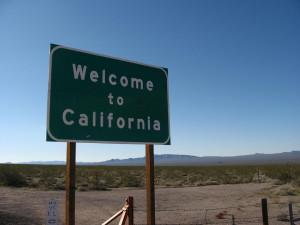 Welcome to California, Nevada-California Border, U.S. 95, Ken Lund January 25, 2009