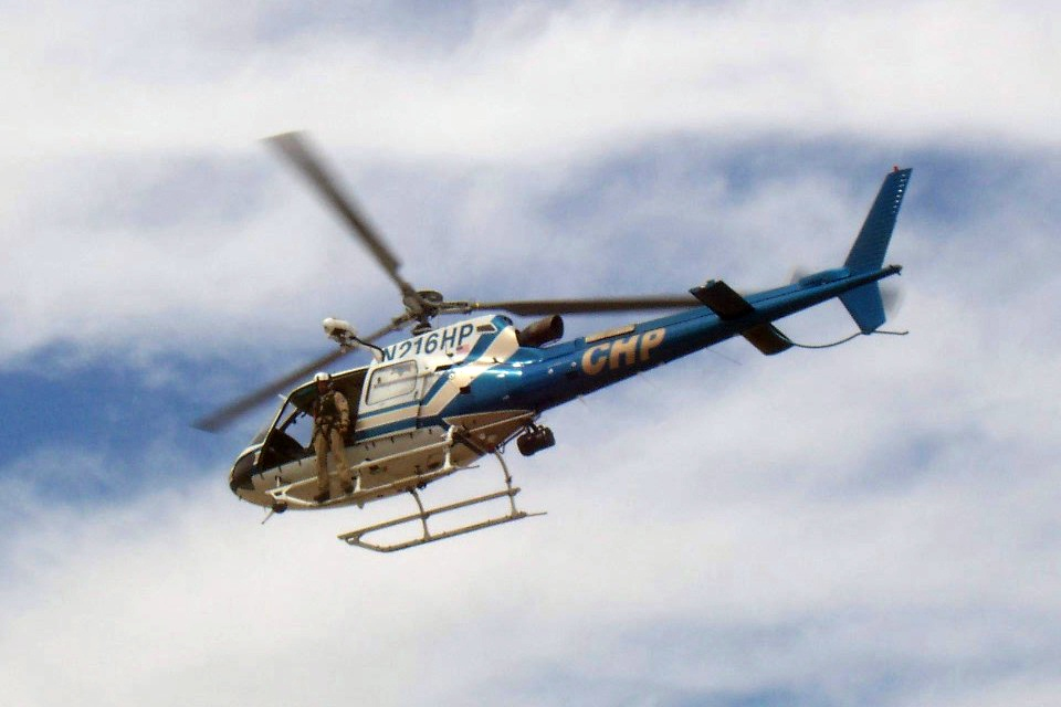 CHP Helicopter, Credit: Wikimedia Commons
