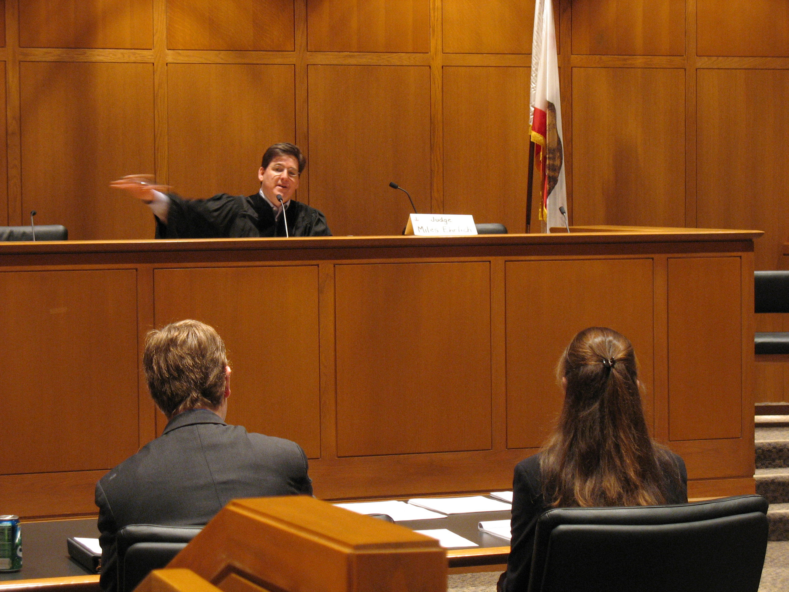 Miles Ehrlich, Judge, Credit: Wikimedia Commons