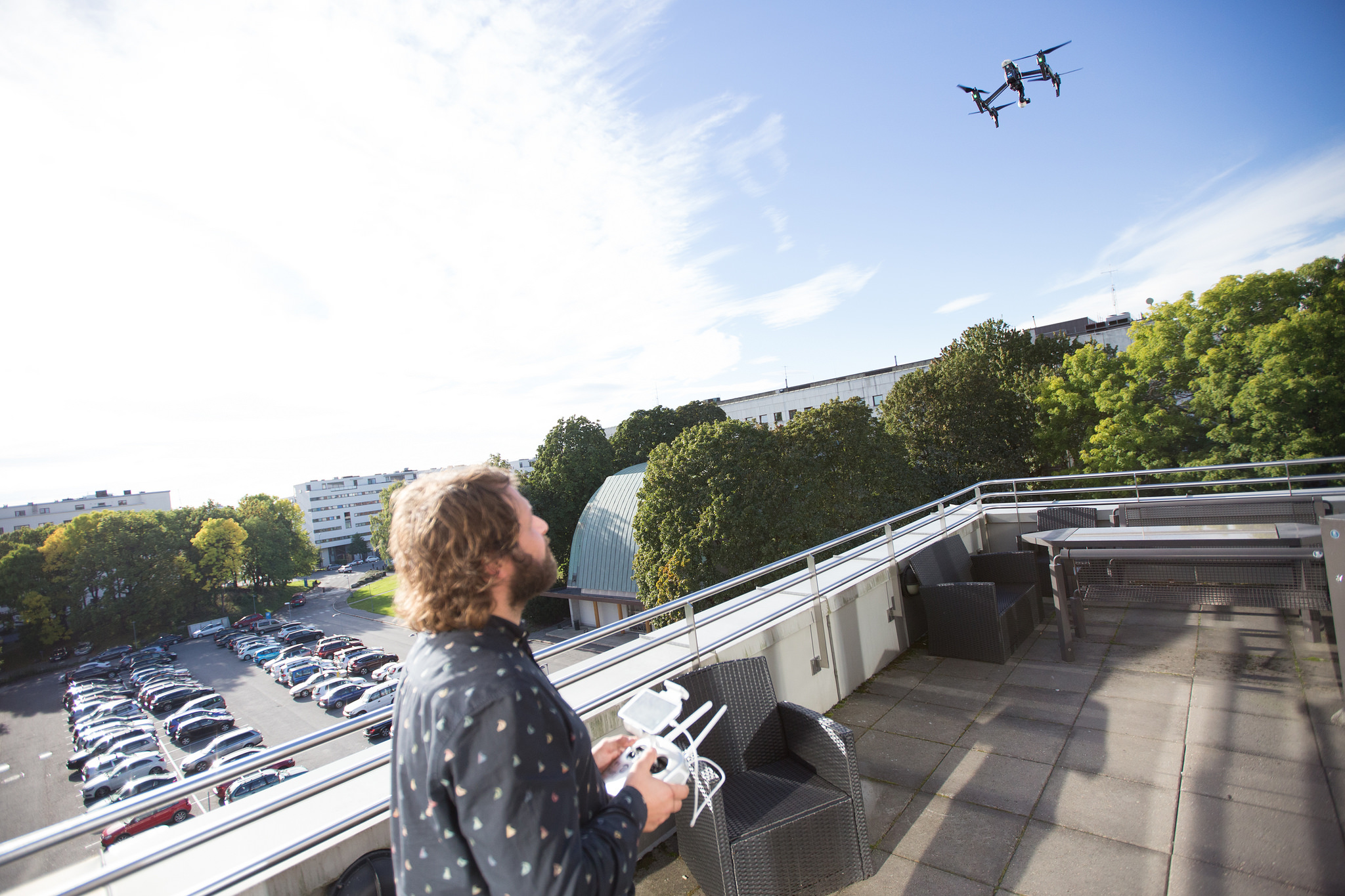Flying a drone, nrkbeta September 30, 2015