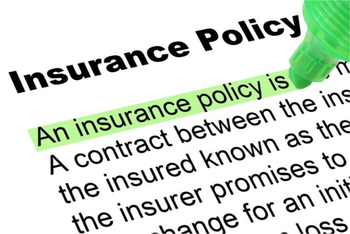 Insurance Poicy