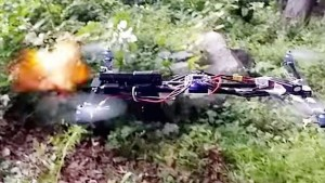 Quadcopter Firing A Gun, Credit: YouTube