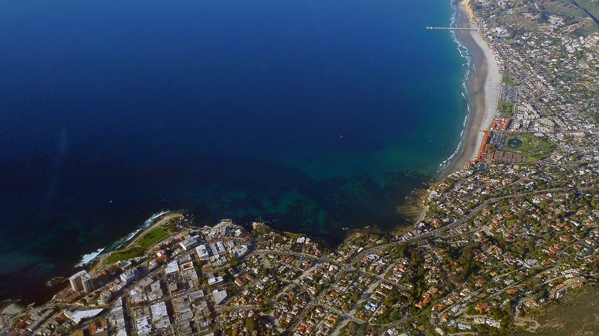Aerial View of La Jolla, Credit: WIkimedia Commons