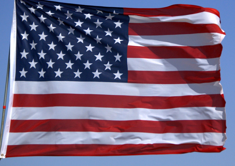 Flag United States, Credit: FreeStockPhotos.biz